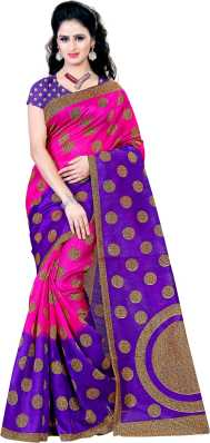 51afc348551 Pink Sarees - Buy Pink Colour Sarees Online at Best Prices In India ...