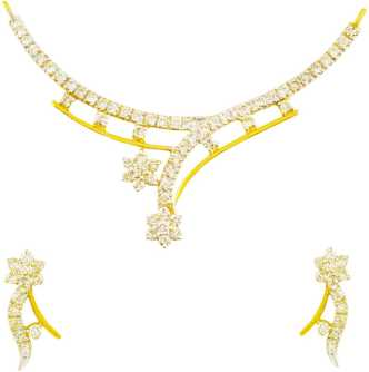 f7dc57672 Gold Necklace - Buy Gold Chain Necklace online at Best Prices in India |  Flipkart.com