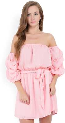 ce707fc71711 Off the Shoulder Dress - Buy Off the Shoulder Dresses Online at Best ...