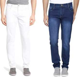 a5179ed7 White Jeans - Buy White Jeans Online at Best Prices In India ...
