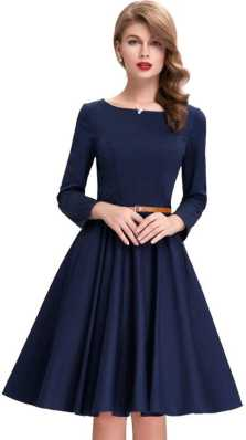 Skater Dress - Buy Skater Dresses Online at Best Prices In India ... 6d14ffdb6