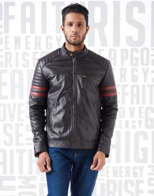 b56ba4a76c Black Leather Jacket - Buy Black Leather Jacket online at Best ...