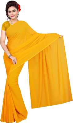 c33657f18f6b63 Yellow Sarees - Buy Yellow Sarees Online at Best Prices In India ...