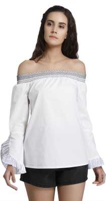2e32fd1c3a Off Shoulder Tops - Buy Off Shoulder Tops / One Shoulder Tops Online ...