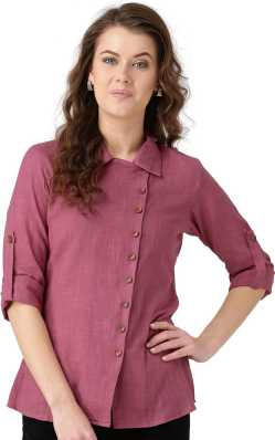 8d3aa10839d Women s Shirts Online at Best Prices In India
