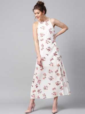 289aea919 Long White Dresses - Buy Long White Dresses Online at Low Prices In India |  Flipkart.com