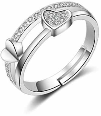 69bbd0370bdff Silver Rings - Buy Silver Rings Online For Men/Women At Best Prices ...