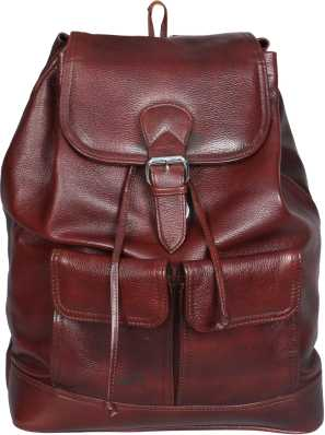 3723f6dde6a6 Leather Backpacks - Buy Leather Backpacks Online at Best Prices In ...