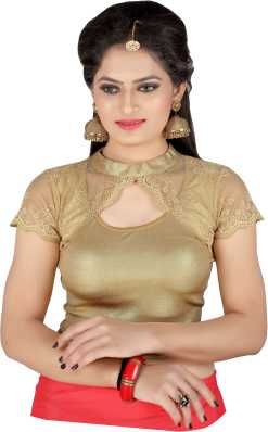ca4492be093c8e Golden Blouse - Buy Golden Blouse Designs online at best prices -  Flipkart.com