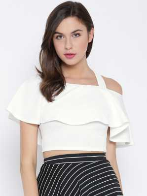 f63b0861b0762b Crop Tops - Buy Crop Tops Online at Best Prices In India
