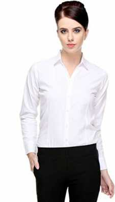 721292df7baec4 White Shirts For Womens - Buy White Shirts For Womens online at Best ...
