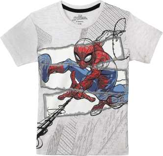 7d226881 Spiderman Kids T-shirts - Buy Spiderman Polos Tshirts Online at Best ...