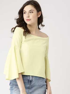 014d57885d4 Off Shoulder Tops - Buy Off Shoulder Tops   One Shoulder Tops Online at Best  Prices In India