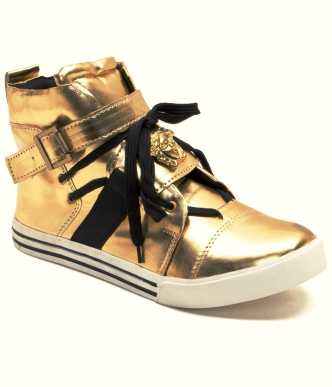 a004964ba6042b Gold Shoes - Buy Gold Shoes online at Best Prices in India ...