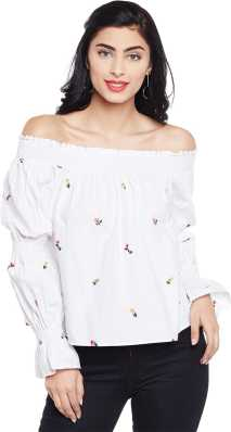 1496a67703 Off Shoulder Tops - Buy Off Shoulder Tops / One Shoulder Tops Online ...