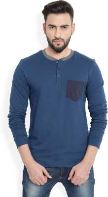 19274f07800 Henley Tshirts - Buy Henley Tshirts Online at Best Prices in India ...