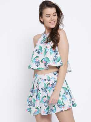 0a857b6b5c Two Piece Dress Western Wear - Buy Two Piece Dress Western Wear Online at  Best Prices In India | Flipkart.com