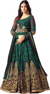 6585f8d5fb Green Gowns - Buy Green Gowns Online at Best Prices In India ...