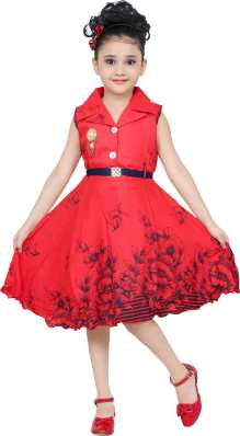 b6f70fcd9 Girls Midi/Knee Length Casual Dress. ₹299. ₹699. 57% off. smartbazar