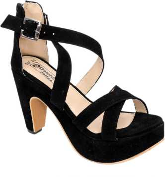 2f4420ffde0 Black Heels - Buy Black Heels online at Best Prices in India ...