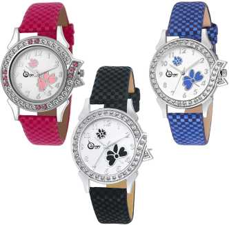 0368d03462 Leather Watches For Women - Buy Leather Watches For Women Online at ...