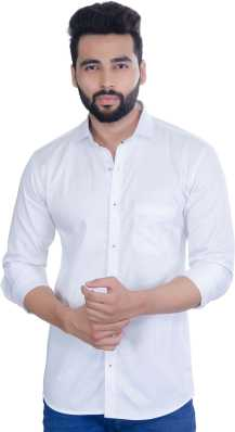 a9a984e8 White Shirts - Buy White Shirts Online at Best Prices In India ...