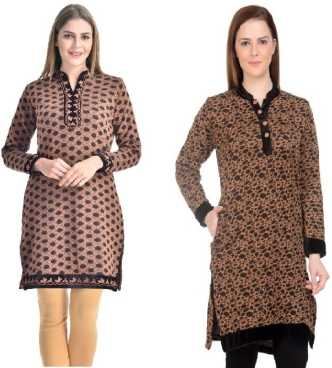 d0e019ffd2 Woolen Kurtis - Buy Woolen Kurtis online at Best Prices in India ...
