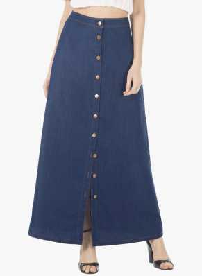 7a07a77dc74 Denim Skirts - Buy Denim Skirts   Jean Skirts for Women online at ...