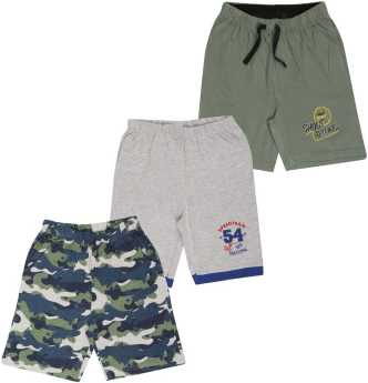 bcd5f6683 Boys Shorts & 3/4ths Online Store - Buy Shorts & 3/4ths For Boys  Online at lowest prices on Flipkart.com
