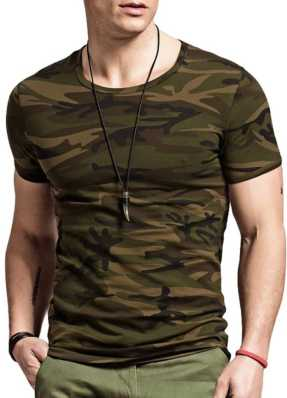 4194e2e3c5f45 Indian Army T Shirts - Buy Military   Camouflage T Shirts online at best  prices - Flipkart.com
