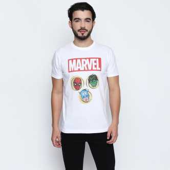 38ad7ad34c4 Marvel Tshirts - Buy Marvel Tshirts Online at Best Prices In India ...