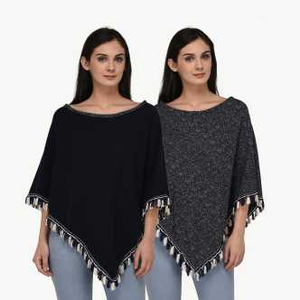 6a30be28d Ponchos - Buy Poncho Tops / Pochu Dress Online for Women at Best ...