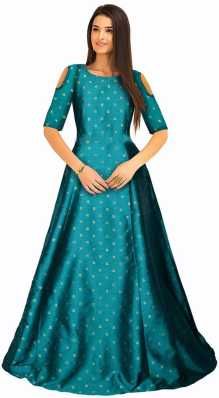 Green Gowns Buy Green Gowns Online At Best Prices In India