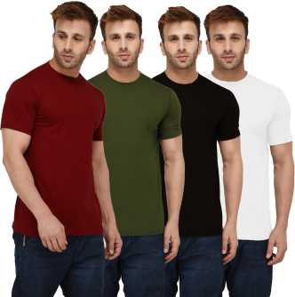6d48a6743f2 Plain T Shirts - Buy Plain T Shirts online at Best Prices in India ...