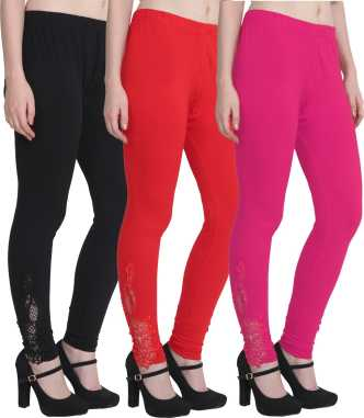 db418c077df Ankle Length Leggings Ethnic Bottoms - Buy Ankle Length Leggings ...