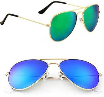 ea8b55f64ab2 Mirrored Sunglasses - Buy Mirrored Sunglasses Online at Best Prices In  India