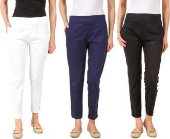 6a6c0a5a96314 Womens Trousers - Buy Trousers for Women Online at Best Prices In ...