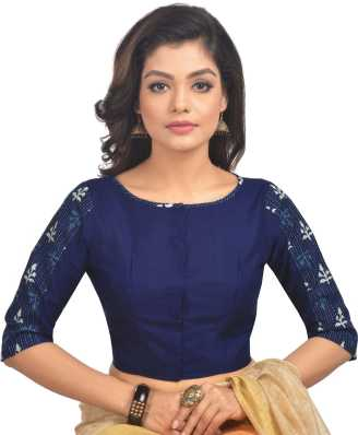 0f3fc9bf8997e Blue Blouses - Buy Blue Blouses Online at Best Prices In India ...