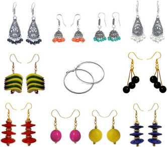 c53b005e56e23 Hoop Earrings - Buy Hoop Earrings online at Best Prices in India ...