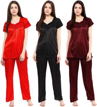 d3f4e9d43c2f Night Suits for Women - Buy Women Night Suits Online for Women at Best  Prices in India