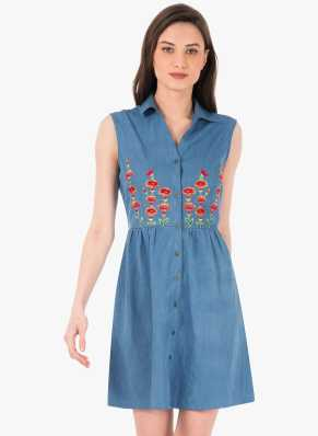 066eb1e3052 Shirt Dresses - Buy Shirt Dresses Online at Best Prices In India ...