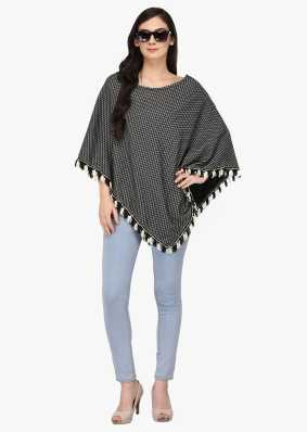 Ponchos Buy Poncho Tops Pochu Dress Online For Women At Best