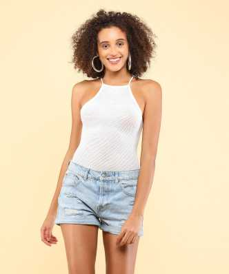 7de1a6e5677ff Forever 21 Shirts Tops Tunics - Buy Forever 21 Shirts Tops Tunics Online at  Best Prices In India
