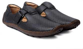 bf358971b2ac Black Sandals - Buy Black Sandals Online For Men At Best Prices In ...