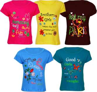 adfe1f5f7955 Girls/Kids T-Shirts and Tops Online Store Flipkart.com