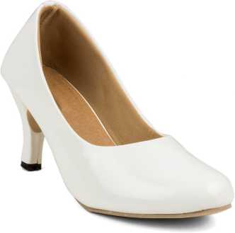 cd321d5d7c7 White Heels - Buy White Heels Online at Best Prices In India ...