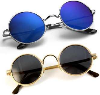 6727d0f9472 Round Sunglasses - Buy Round Sunglasses for Men   Women Online at ...
