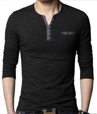2020 fine craftsmanship highly praised Henley Tshirts - Buy Henley Tshirts Online at Best Prices in ...