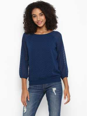 43c70c310441d Blue Tops - Buy Blue Tops Online at Best Prices In India