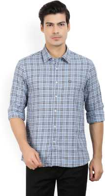 d649e14917ae3 Blue Shirts - Buy Blue Shirts Online at Best Prices In India ...